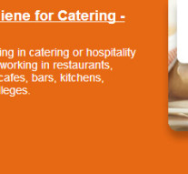 Food Safety & Hygiene Level 2 for Catering – City & Guilds Accredited