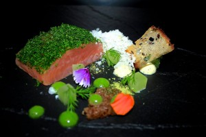 Micail Swindells cured salmon dill and rye